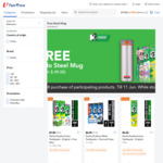 Free Endo Steel Mug with $38 Purchase of Participating Darlie Products at FairPrice Online