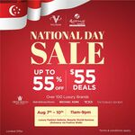 Up to 55% off from over 100 Luxury Brands at Valiram
