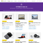 Up to 20% off Surface Devices @ Microsoft