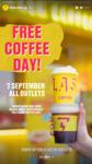 Free Americano or Long Black Coffee @ Flash Coffee