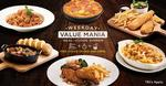 Free Side and Drink with Every Order of Selected Meals at Pizza Hut (Weekdays, after 6pm)