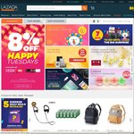 Lazada - 18% off (New Customers) or 15% off Existing Customers