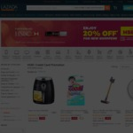 20% off Sitewide at Lazada (New Customers, HSBC Cards)