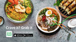 $5 off 3x GrabFood Orders (No Minimum Spend, Free Delivery)