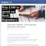 Win £100 Worth of Books from The Book Depository