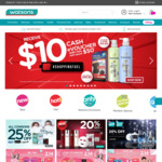 $10 Cash eVoucher When You Spend $50 at Watsons