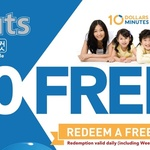 Collect 10 Stamps for a Free Haircut at kcuts (Tampines MRT)