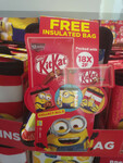 Free Limited Edition Minion Cooler Bag When You Purchase Kit Kat at FairPrice
