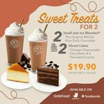 Sweet Treats for 2 at $19.90 from Coffee Bean