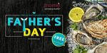 Free Freshly-Shucked Oysters (3pcs) for All Dads (Father's Day) at Momiji Japanese Buffet Restaurant