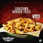 Voodoo Fries for $3.50 with Any Combo Purchase at Wingstop