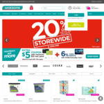 20% off Storewide ($38 Min Spend) Plus Bonus $5 Coupon ($50 Min Spend) at Watsons