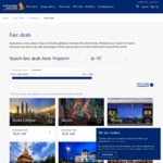 Singapore to Canberra, Australia $525 Return on Singapore Airlines (March-June)