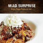 Free Ragu Steak Fettuccine ($10++ Minimum Spend) at Mad for Garlic [Facebook Required]