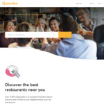 600 Bonus Points with Your Next Reservation at Quandoo