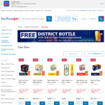 Free District Bottle with $30 Worth of Tiger Products Purchased at FairPrice on