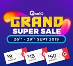 Qoo10 Coupons - $8 off When You Spend $50, $15 off When You Spend $120 and $50 off When You Spend $400