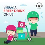 Free Pack of Ice Milk Tea, Barley or Lemon Tea from Delibowl (for GrabFood, Deliveroo and foodpanda Delivery Riders)