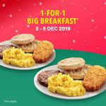 1 for 1 Breakfast at McDonald's (via App)