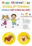 Free Small Chicken Rice for Children (U.P. $3) from OK Chicken Rice
