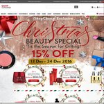15% Off Selected Beauty Items at iShopChangi (e.g. 2 x 125mL Clinique Moisturiser for $68.51)