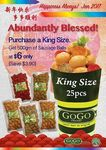 $6 for King Size (500gms) of Sausage Balls at GoGo Franks (U.P. $9.90)