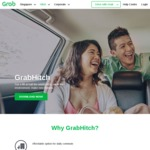 $4 or $3 off GrabHitch Rides with Grab (Monday 14th to Sunday 20th August)