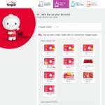 Singtel Prepaid Double Value Topup Bonus