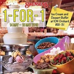 1 for 1 Ice Cream and Dessert Buffet at Swensens via App (Monday 14th to Friday 18th May, ION Orchard)