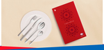 Redeem 4-piece WMF cutlery set worth $49.90 with minimum of $60 on Esso Synergy™ fuels and Additional Topup