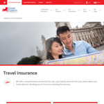 50% off Travel Insurance + $2.80 Suntec City Parking Dollars for Every $30 Spent @ Great Eastern Insurance