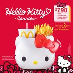 Hello Kitty Carrier for $7.90 with Any Extra Value Meal Purchase at McDonald's
