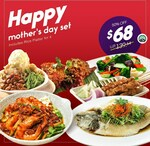 A-May-Zing Happy Mother's Day Set Meals from $68 at Penang Culture