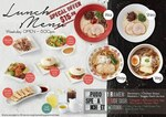 Lunch Set (Ramen, Side Dish & Drink) for $15.90 at Ippudo [Weekdays, 11am to 5pm, Raffles City]