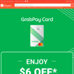 $6 off Sitewide ($60 Min Spend) at Shopee [GrabPay Cards]