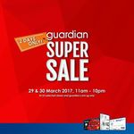 Bonus $5 Voucher with $80+ Spend on UOB Delight Cards/$100+ Spend on Other Cards at Guardian (In-Store)