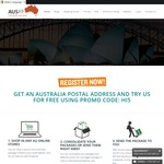 Get Free Account and Sydney Postal Address – AUD $5.00 OFF Promo Code  @ Ausff
