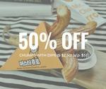 50% off Churros with Dips - $2.50 (U.P. $5) at Mr Churro via Lobang King Club App