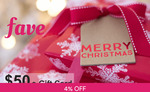 $50 e-Gift Card for $48 at Fave (previously Groupon)