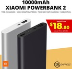 Xiaomi 10000mAh Power Bank 2 for $9.50 (New Customers) or $16.50 Delivered (Existing Customers) from 131express at Shopee