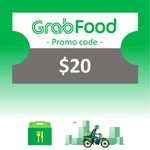 $20 GrabFood Promo Code for $15 at shopee.lifestyle via Shopee