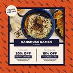 Bowl of Ramen for $14.45 (U.P. $19.90) at Kanshoku Ramen via Klook