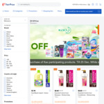 $5 off ($30 Min Spend) on Participating Kao Products at FairPrice On