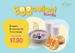 2x Eggwich and Classic Soya Milk & a 3-in-1 Riceball for $7.90 (UP $13.90)  at Mr Bean