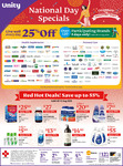 25% off Participating Health Supplement & Personal Care Brands at Unity Pharmacy