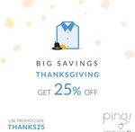 25% Off Washes with Piing