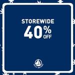 40% Off Storewide at Petit Bateau