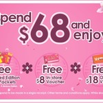 Free $8 In-Store Voucher, $18 Online Voucher & 8x Limited Edition Red Packets with $68+ Spend at Guardian
