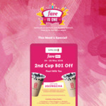 50% off 2nd Cup of Pearl Milk Tea at Gong Cha with FavePay Payment via Fave App