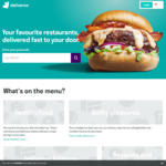 Free Delivery at Deliveroo (Standard Chartered Cards)